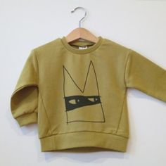 AA Bandit pullover [mustard]  www.mintandpersimmon.com
