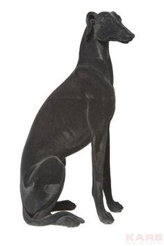Deco Figurine Windhund Black by #KAREDesign