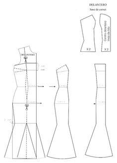 Patrones de vestidos de novia pdf