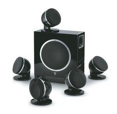 5 głośników 2-drożnych typu compact; Idealny do pomieszczeń o powierzchni: 30 do 40m2; Pasmo przenoszenia 80-28000 Hz; Impedancja 8 Ohm; Rekomendowana moc wzmacniacza 25-100 W #kinodomowe #homecinema #głośniki #focal