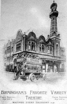 Birmingham Hippodrome Birmingham City Centre, Old Pictures, Old Photos, The Second City, Birmingham England, West Midlands, Local History