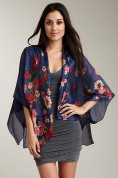 how to wear kimono jackets cardigans