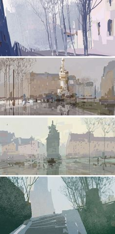 Mais artes do filme Um Monstro em Paris | THECAB - The Concept Art Blog