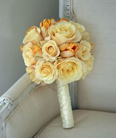 gorgeous rose and tulip bouquet