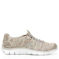 Skechers Women's Empire Game On Relaxed Fit Slip On Sneakers (Taupe) - 6.5 M