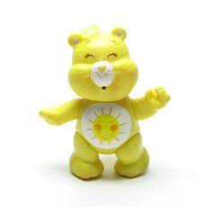 sunshine bear figure | Bears Funshine Bear Poseable Vintage Toy Figurine Yellow with Sunshine ...