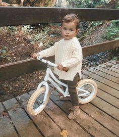 cute little guy on a little bike Cute Baby Boy Outfits, Toddler Boy Outfits, Cute Baby Clothes, Toddler Boys, Baby Kids, Baby Boy Style, Toddler Boy Fashion, Little Boy Fashion, Kids Fashion