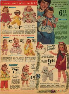 1966 PAPER AD 2 PG Doll Horsman Thirstee Walker Baby Buttercup Snuggle Softee in Collectibles, Advertising, Other Collectible Ads | eBay