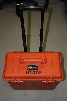 Ham Radio Equipment, Go Kit, In Case Of Emergency, Alternative Energy, Emergency Preparedness, Hams, Shtf, Boxes, Orange
