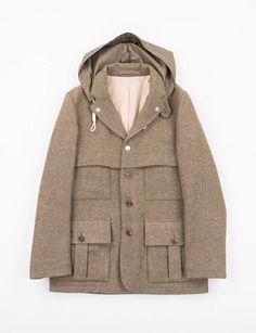 6c9613bcb27fdd Nigel Cabourn Olive 1930s Sherpa Jacket