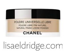 CHANEL Poudre Universelle Libre. #Wedding #Bridal #Makeup http://www.lisaeldridge.com/