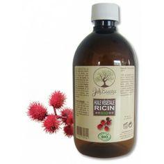 Huile végétale vierge de Ricin BIO - 500 ml