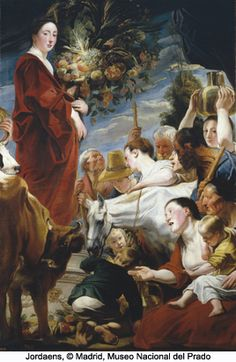JORDAENS - Flemish (Antwerp 1593 - 1678) - Beaux Arts de Bruxelles