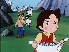 Heidi Serie Heidi, Heidi Cartoon, Popeye Cartoon, Old Cartoons, Granny Love, Vintage Books, Studio Ghibli, Manga Anime, Mickey Mouse