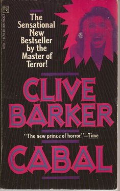 Cabal ** by Clive Barker