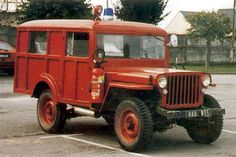 French-bodied Jeep Woodie