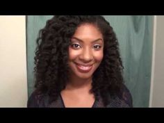 Two-Strand Flat Twist-Out Camille Rose Naturals Products - YouTube via Nikkimae2003