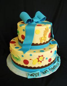 cayden s 1st birthday cake party ideas pinterest birthday