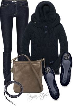 """""""Toasty Blue"""" by orysa on Polyvore"""
