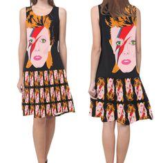 ZIGGY REBEL REBEL drop waist dress made out of by kayciwheatley