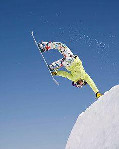 Molly Aguire Hantplant snowboard