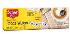 Cocoa Wafers - Schar My other GF cookie addiction