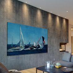 Great Gerahmter Kunstdruck Fallen Sail von Marmont Hill von Marmont Hill Wayfair de