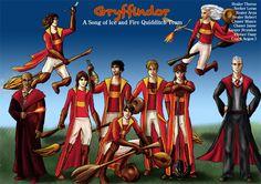 Gryffindor Asoiaf Quidditch 2 by guad on DeviantArt