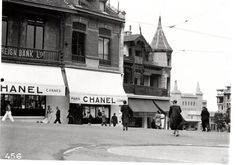 The CHANEL first Couture House in Biarritz, France