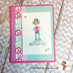 This one is going to the land of Oz.. Hopefully it will arrive before the recipients birthday. This is from the #stampinup Words with Wanda set.