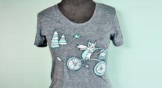 New to boygirlparty http://ift.tt/1wlgGoA: Bicycle shirt bicycle tshirt bicycle t-shirt - women bike shirt bike tshirt vintage grey t shirt women #EtsyFinds #EtsyFind @Etsy #giftideas