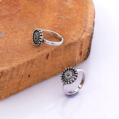 925 Solid Sterling Silver Unique Flower Design Oxidize Silver Toe Ring, US Adjustable, Bohemian Oxidize Toe Ring, Gift For Women by KrishnaJewelsByAnuj on Etsy Sterling Silver Toe Rings, Silver Anklets, Silver Jewelry, Indian Jewelry, Silver Ring, Jewlery, Gold Diamond Wedding Band, Halo Diamond, Toe Ring Designs