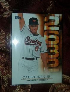 2015 Topps Series 2 Cal Ripken Jr. 2632-8 Walmart Exclusive Ties Gehrig's Record in Sports Mem, Cards & Fan Shop, Cards, Baseball | eBay