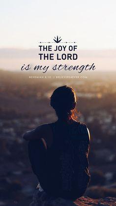 he joy of the Lord is my strength. Verses About Strength, Lord Is My Strength, Jesus Wallpaper, Bible Verse Wallpaper, Bible Words, Bible Scriptures, My Father Quotes, Joy Of The Lord, Dios