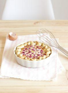 Himbeer-Sahne Pie by petite homemade