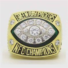 Custom 1997 Green Bay Packers National Football Championship Ring