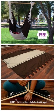 Easy And Cozy Diy Hammock Stand Ideas For The Beginners Stylish, Easy And Cozy Diy Hammock Stand Ideas For The Beginners - DIY Hammock Chair - Make Your Own - Heavenly Hammocks Hanging swing toddler swing cocoon swing indoor swing Diy Swing, Diy Hammock, Hammock Swing Chair, Hammock Stand, Swinging Chair, Indoor Swing, Hammock Ideas, Crochet Hammock, Garden Hammock