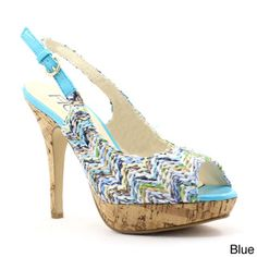 c33c2aca2ff FFC New York Women s  Alexus  Slingback Style Peep-toe Pumps