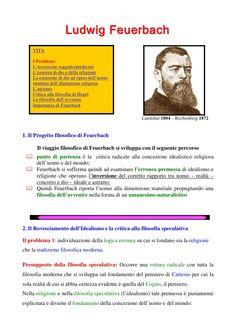 Presentazione sulla filosofia di Feuerbach