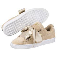 65db68383b32a Basket Heart Metallic Safari Women s Sneakers
