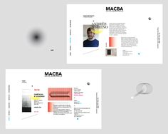 MACBA - Identidad Museo on Behance