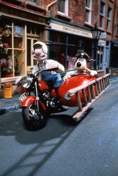 Wallace and Gromit!