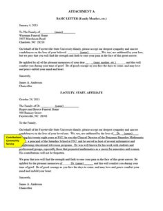 Business Organization Letter Format  Letter Template