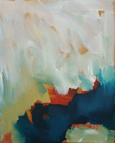 Large Contemporary Original Painting Abstract by ObaidAbstractArt