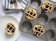 Cascadian Farm Mini Blueberry Pies #12daysofpie