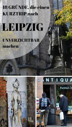 Leipzig ist eine der schönsten Städte Deutschlands. Du suchst trotzdem noch nach Gründen und Anregungen für einen Leipzig Kurztrip? Dann lass dich von diesem Artikel überzeugen!