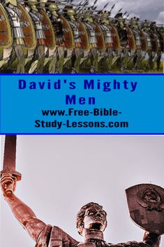 The mighty men of David were a courageous group of men unafraid of the odds that were against them. #mightymen #david #courage #loyality Bible Study Lessons, Free Bible Study, Times Of Refreshing, Justified By Faith, Bible Commentary, The Kingdom Of God, Godly Woman, Word Of God, David