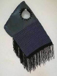 InnerTube/ Boho/ Tassels/Wristlet Bag/ Free Shipping /Lunch