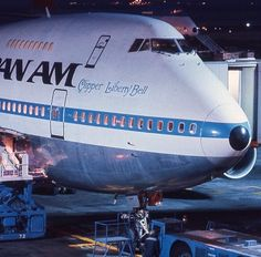 Pan Am 747-SP 'Clipper Liberty Bell' her registration was N540PA. She was put into service in April 1979 and retired to World Aircraft Holdings after spending a short time with United Airlines starting February 1986.