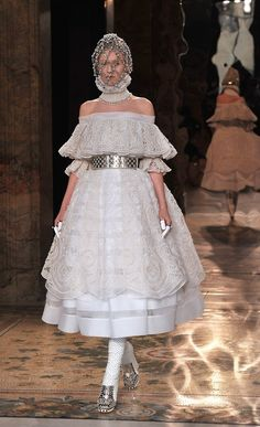 This McQueen outfit.   12 Reasons The World's Most Uncomfortable Clothes Are TheBest